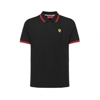 Ferrari polokošeľa Collar black F1 Team 2018