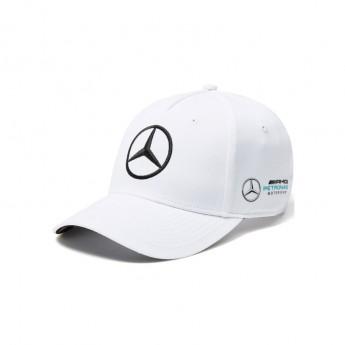 Mercedes AMG Petronas čiapka baseballová šiltovka white Bottas white F1 Team 2018