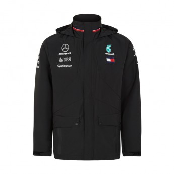 Mercedes AMG Petronas pánska bunda black Rain F1 Team 2018