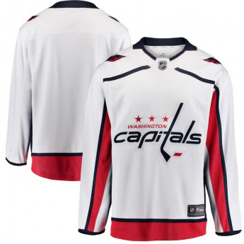 Washington Capitals hokejový dres white Breakaway Away Jersey