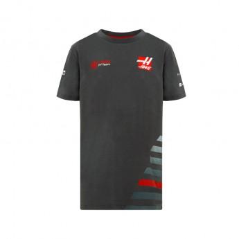 Haas F1 Team detské tričko grey 2018