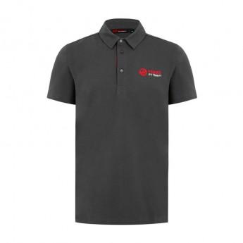 Haas F1 Team pánske polo tričko Logo grey 2018