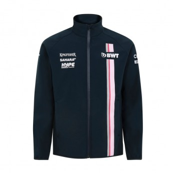Force India pánska bunda Softshell blue Sahara F1 Team 2018
