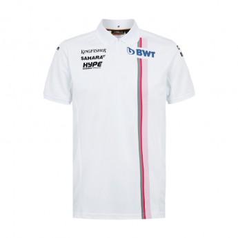 Force India polokošeľa white Sahara F1 Team 2018
