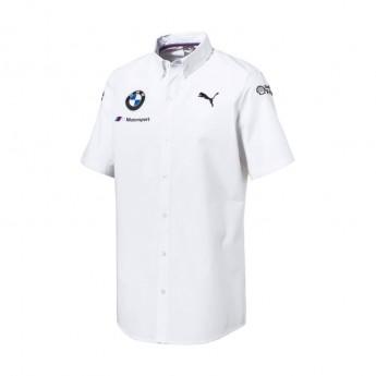 Puma BMW Motorsport pánska košele white 2018