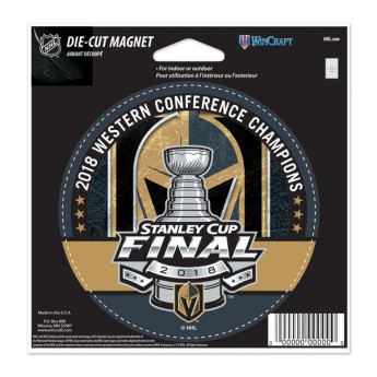 Vegas Golden Knights magnetka 2018 Western Conference Champions