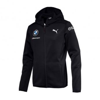 BMW Motorsport pánska bunda s kapucňou blue Midlayer Team 2018