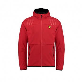 Ferrari pánska bunda softshell SF red F1 Team 2018
