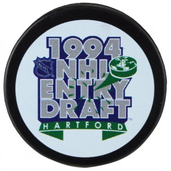 Hartford Whalers zberateľský puk 1994 NHL Entry Draft