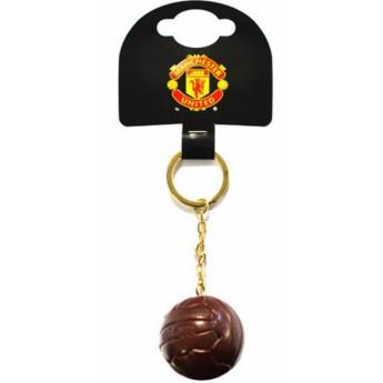 Manchester United kľúčenka ball retro
