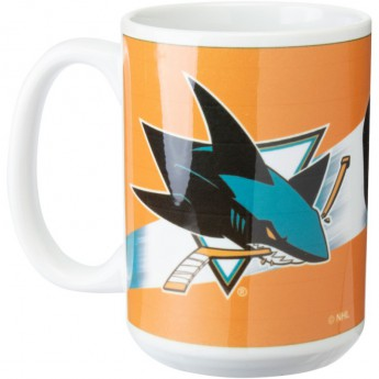 San Jose Sharks hrnček 3D Graphic Mug