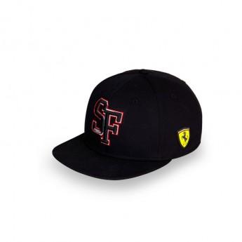 Ferrari čiapka flat šiltovka Brim SF Black F1 Team 2018