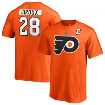 Philadelphia Flyers detské tričko orange #28 Claude Giroux Stack Logo Name & Number