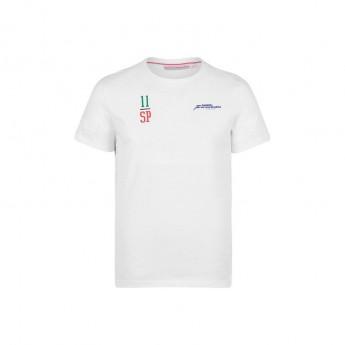 Force India pánske tričko Checo white Sahara F1 Team 2018