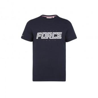 Force India pánske tričko Graphic navy Sahara F1 Team 2018