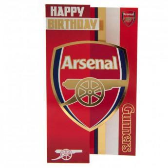 FC Arsenal narodeninové želanie Birthday Card