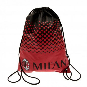 AC Milano športová taška Fade