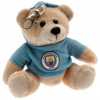 Manchester City plyšový medvedík Bag Buddy Bear