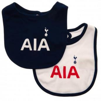 Tottenham detský podbradník 2 Pack Bibs ST