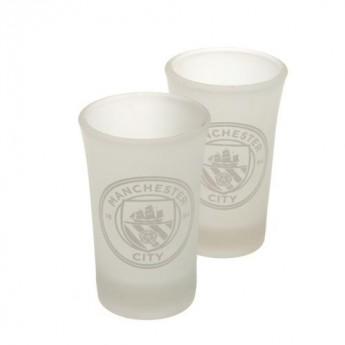 Manchester City panák štamprlík 2pk Shot Glass Set FR
