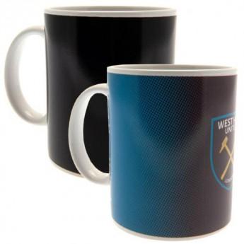 West Ham United hrnček Heat Changing Mug
