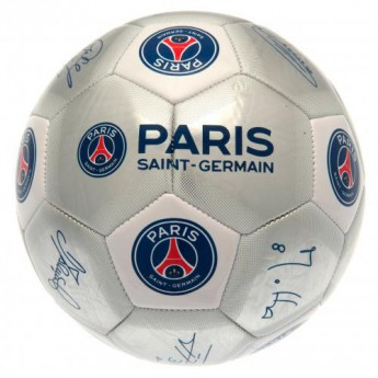 Paris Saint German podpísaná lopta Football Signature SV
