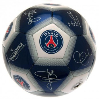 Paris Saint German podpísaná lopta Football Signature