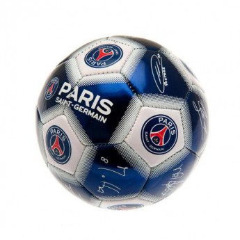 Paris Saint German podpísaná lopta Mini Ball Signature