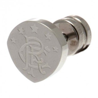 FC Rangers náušnice Cut Out Stud Earring