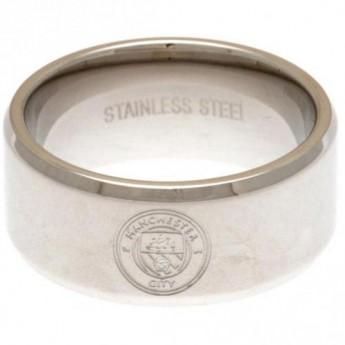 Manchester City prsteň Band Medium