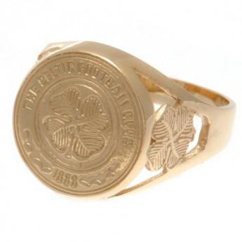 FC Celtic prsteň 9ct Gold Crest Medium