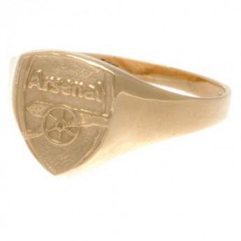 FC Arsenal prsteň 9ct Gold Crest Medium
