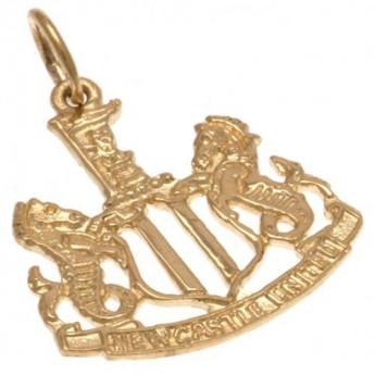 Newcastle United zlatý prívesok 9ct Gold Pendant