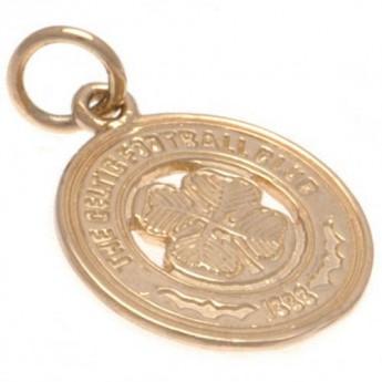 FC Celtic zlatý prívesok 9ct Gold Pendant