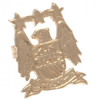 Manchester City náušnice 9ct Gold Earring EC