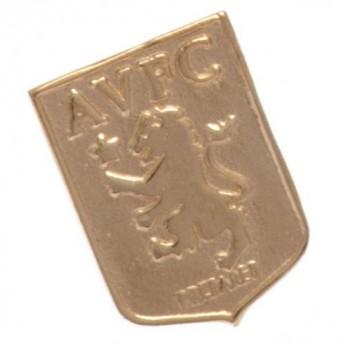 Aston Villa náušnice 9ct Gold Earring