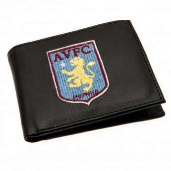 Aston Villa peňaženka z technickej kože Embroidered Wallet