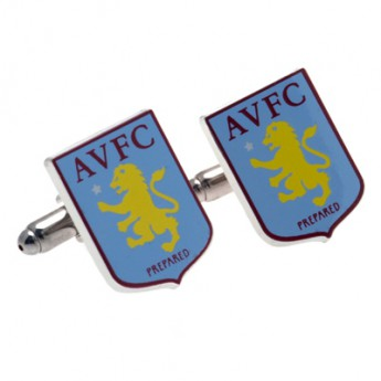 Aston Villa manžetové gombíky Crest