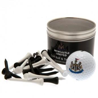 Newcastle United golfový set Ball & Tee Set