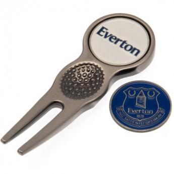 FC Everton set vypichovátka s markovákom Divot Tool & Marker