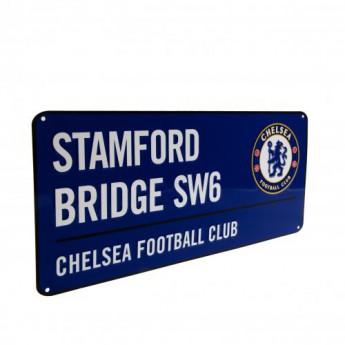 FC Chelsea kovová značka Street Sign BL