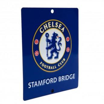 FC Chelsea ceduľa na okno Window Sign SQ