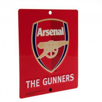 FC Arsenal ceduľa na okno Window Sign SQ