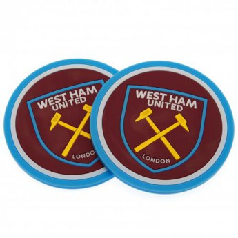 West Ham United set podtáciek 2pk Coaster Set