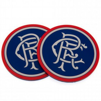 FC Rangers set podtáciek 2pk Coaster Set