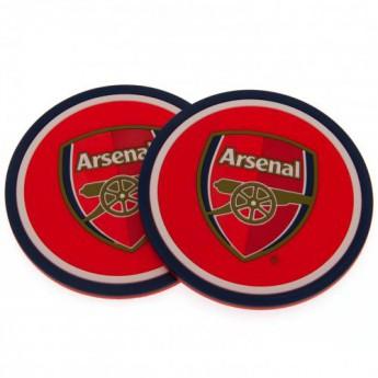 FC Arsenal set podtáciek 2pk Coaster Set