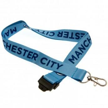 Manchester City kľúčenka Lanyard
