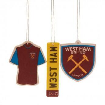 West Ham United osviežovač vzduchu 3pk