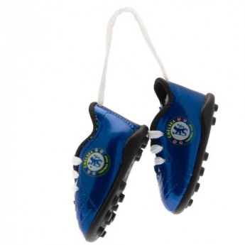 FC Chelsea mini topánky do auta Mini Football Boots