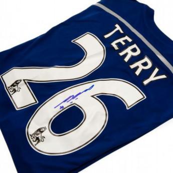 Legendy futbalový dres FC Chelsea Terry Signed Shirt
